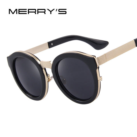 MERRY'S Fashion Men Sunglasses Classic Women Brand Designer Metal Square Sun glasses S'8632 - The Big Boy Store