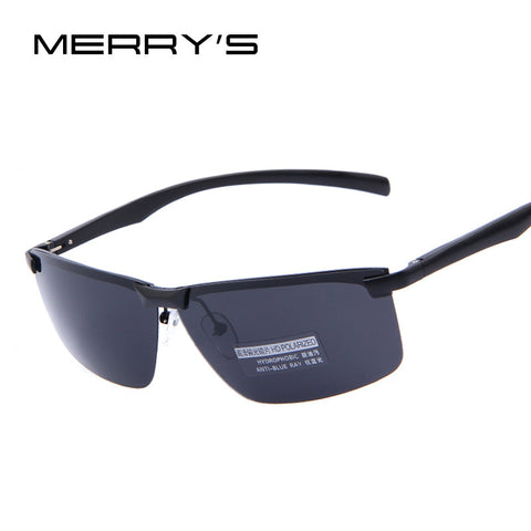 MERRY'S Men 100% HD Polarized Night Vision Driving Sunglasses Men Brand Polarized Sunglasses High quality With Original Case - The Big Boy Store
