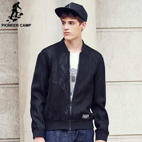 Pioneer Camp 2017 Men's Jacket New design Men Jacket Fashion trend Casual Spring & Autumn baseball collar male Jacket  677119 - The Big Boy Store