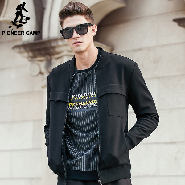 Pioneer Camp New arrival autumn spring jacket men brand clothing top quality male jacket coat fashion casual men coat  622201 - The Big Boy Store