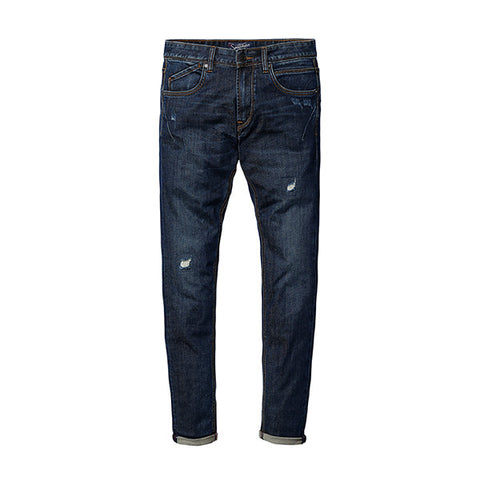 SIMWOOD New autumn winter  jeans men length denim pants fashion casual trousers  hole hip hop