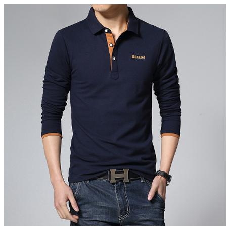 New High Quality Men's Long-sleeved T Shirt