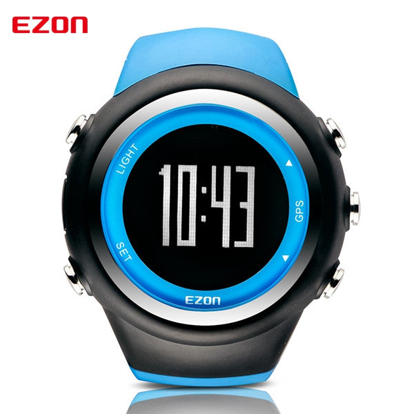 2016 Men Watches Luxury Brand GPS Timing Running Sports Watch Calorie Counter Digital Watches EZON T031 - The Big Boy Store