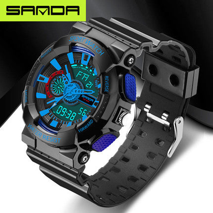 Fashion watches men watch waterproof sport military G style S Shock watches men's luxury brand - The Big Boy Store