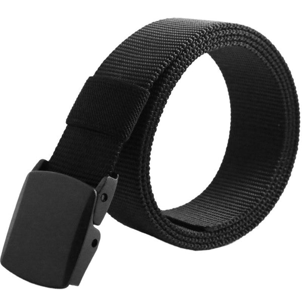 Automatic Buckle Nylon Belt Male Army Tactical Belt Jeans Mens Luxury Waist Designer Belts Men High Quality Strap Ceinture Femme - The Big Boy Store