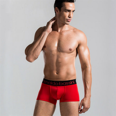 10 Colors Male Sexy Underwear Men's Boxers Top Quality Modal Black Underwear - The Big Boy Store