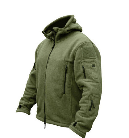 Military Man Fleece tad Tactical Softshell Jacket Polartec Thermal   Polar Hooded Coat Outerwear Army Clothes - The Big Boy Store