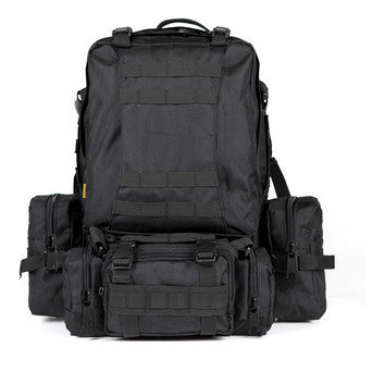 Waterproof 3D Army Fans Rucksack Bag Multi Style Multifunction High Capacity Black Color