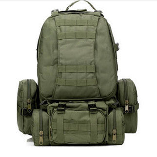 Waterproof 3D Army Fans Rucksack Bag Multi Style Multifunction High Capacity Army Green