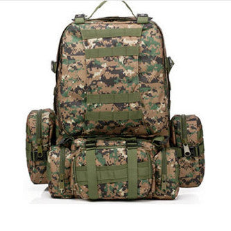 Waterproof 3D Army Fans Rucksack Bag Multi Sytle Multifunction High Capacity - The Big Boy Store