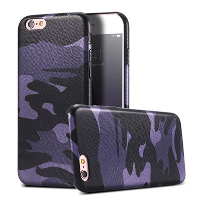 iPhone 7 Military Camouflage Cool Men Leather Back Cover Case For iPhone 7 7 Plus For iPhone 6 6S - The Big Boy Store