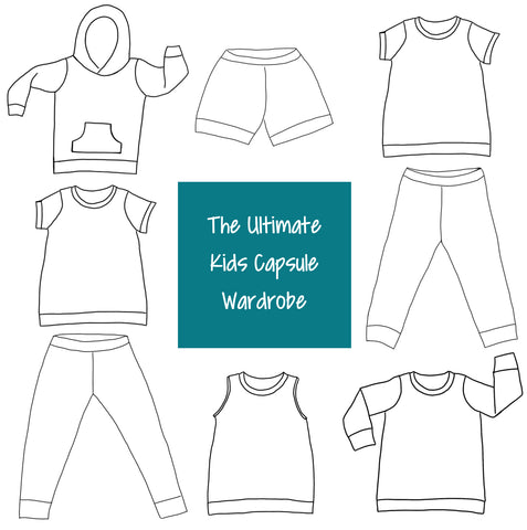 The Ultimate Kids Capsule Wardrobe- Pre-Order - Baby-Toddler-Big Kids