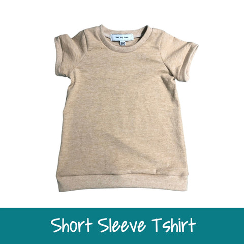 Short Sleeve Tshirt - Baby-Toddler-Big Kids