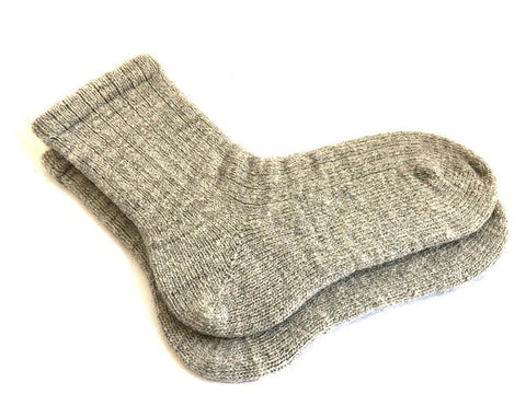 California Wool - Meridian Jacobs/Timm Ranch -  Grey - Knit Socks
