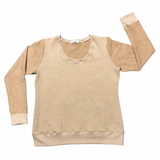 Scoop Neck Sweatshirt - Women's Clothing