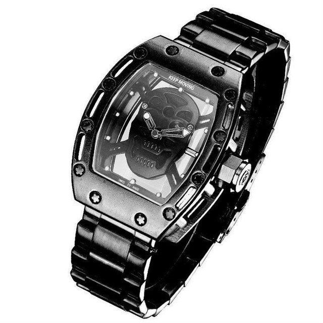 'Barebones' Skull Watch