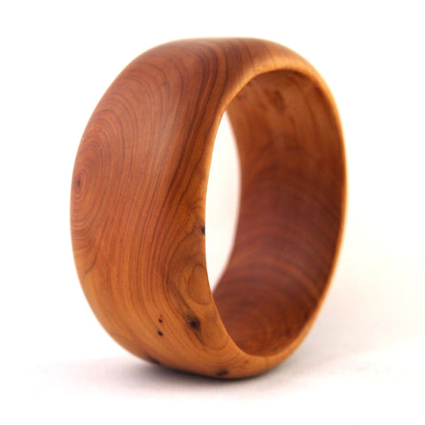 Wooden Bangle Wide
