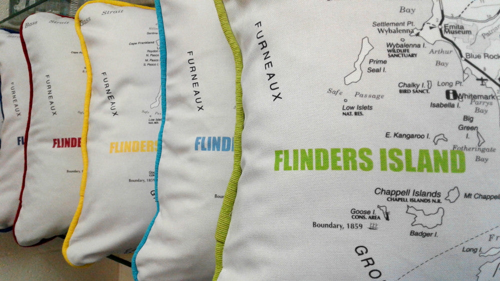 Cushy Locations Flinders Island cushion