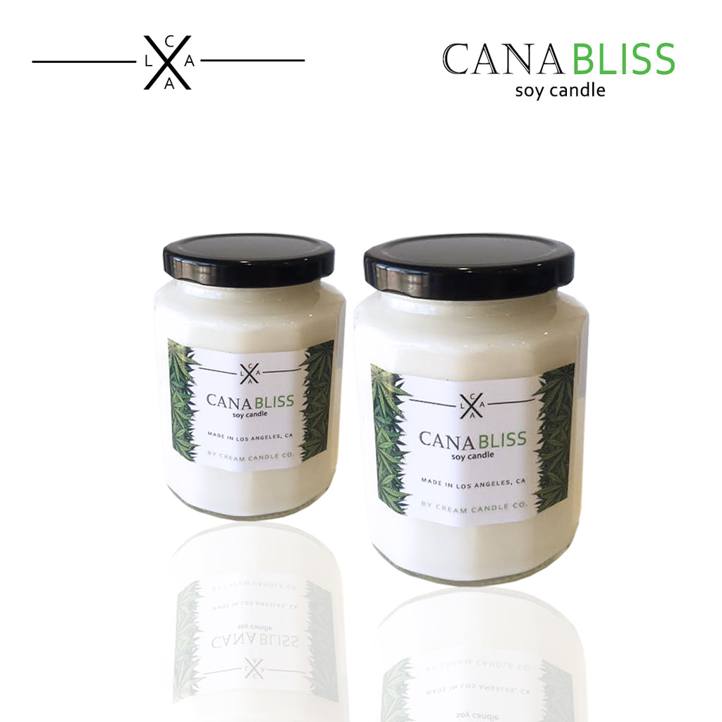 NEW CANNABLISS CANDLE FOR ALL OUR 4/20 FRIENDS