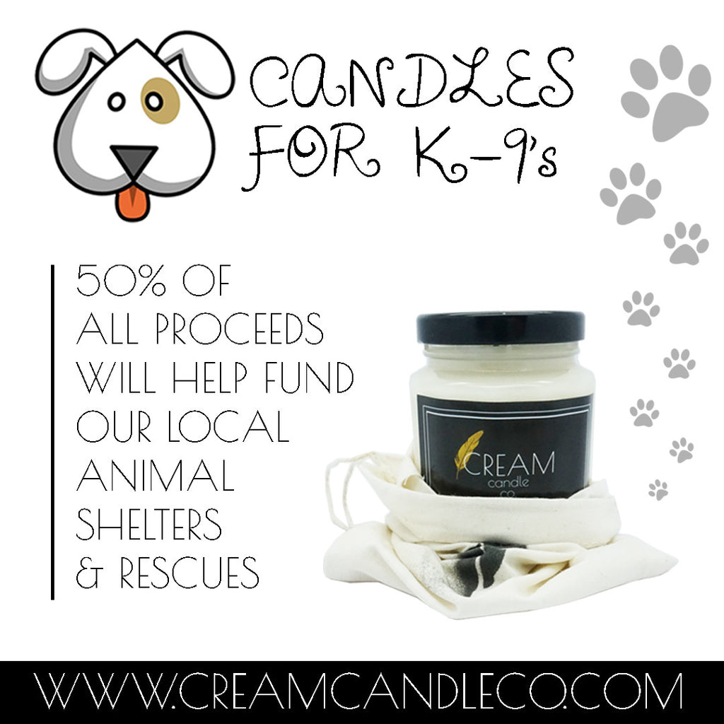 Candles for K-9's