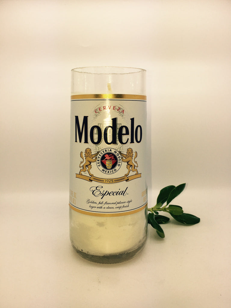 MODELO Beer Soy Candle - Big Size