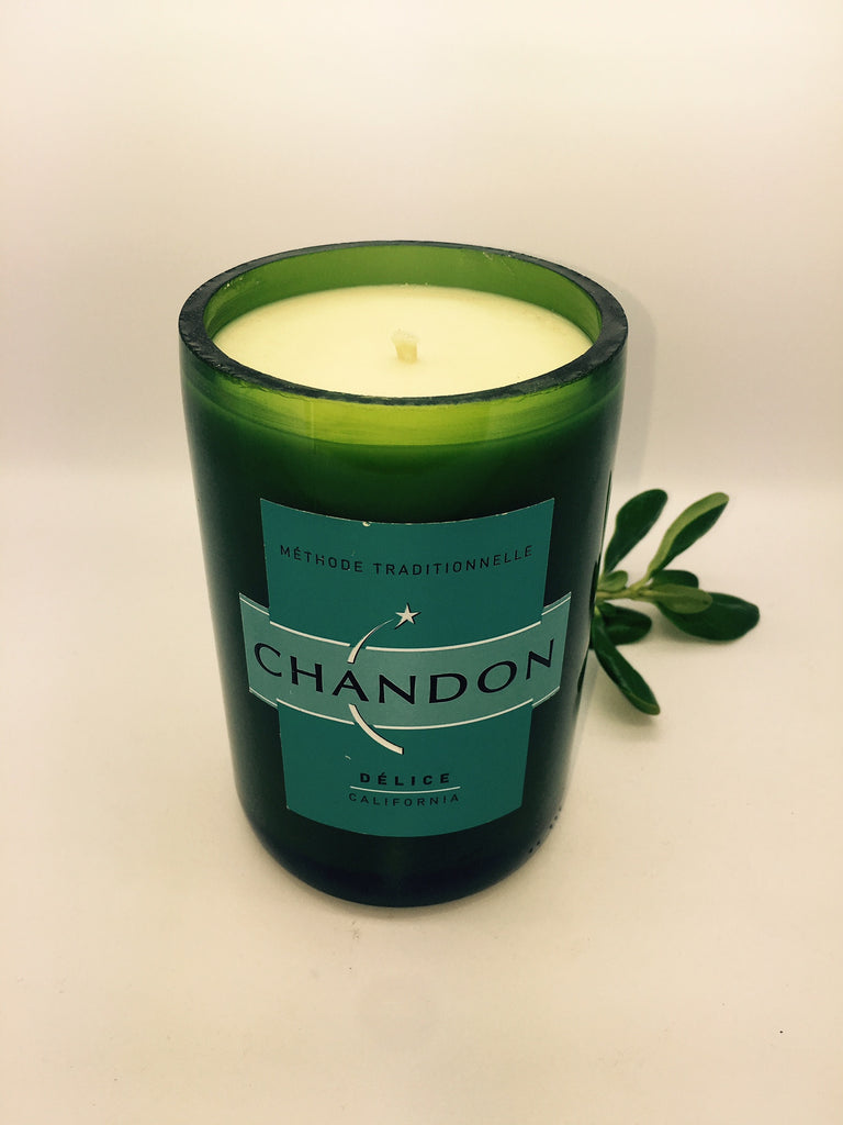 CHANDON Champagne Soy Candle - Italian Musk
