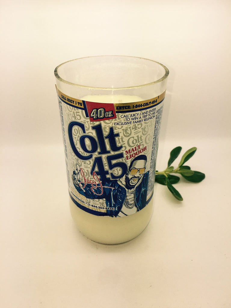 COLT 45 Beer 40oz  Soy Candle - Scented