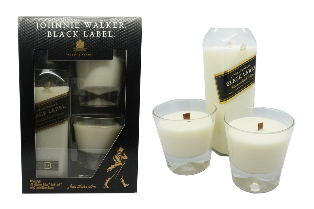 JOHNNIE WALKER BLACK LABEL  Candle Set