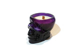 Skull Soy Candle - Purple