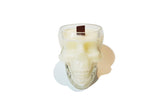 Skull Soy Candle - Clear