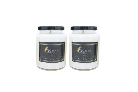 2 Large Candle Combo