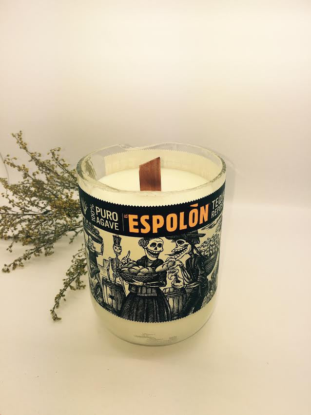 Espolon Tequila Candle - Chrome Scented