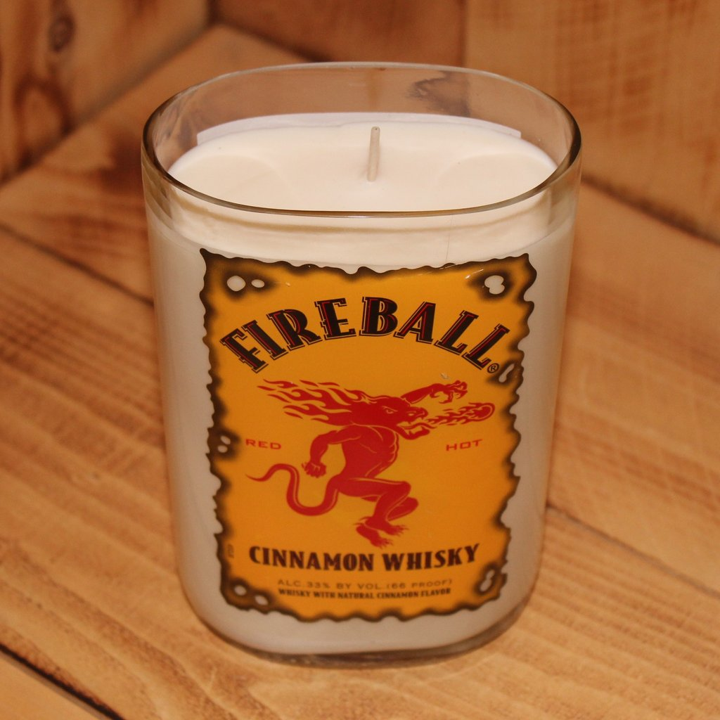 Fireball Whiskey Candle - Sugar Mandarin Scented