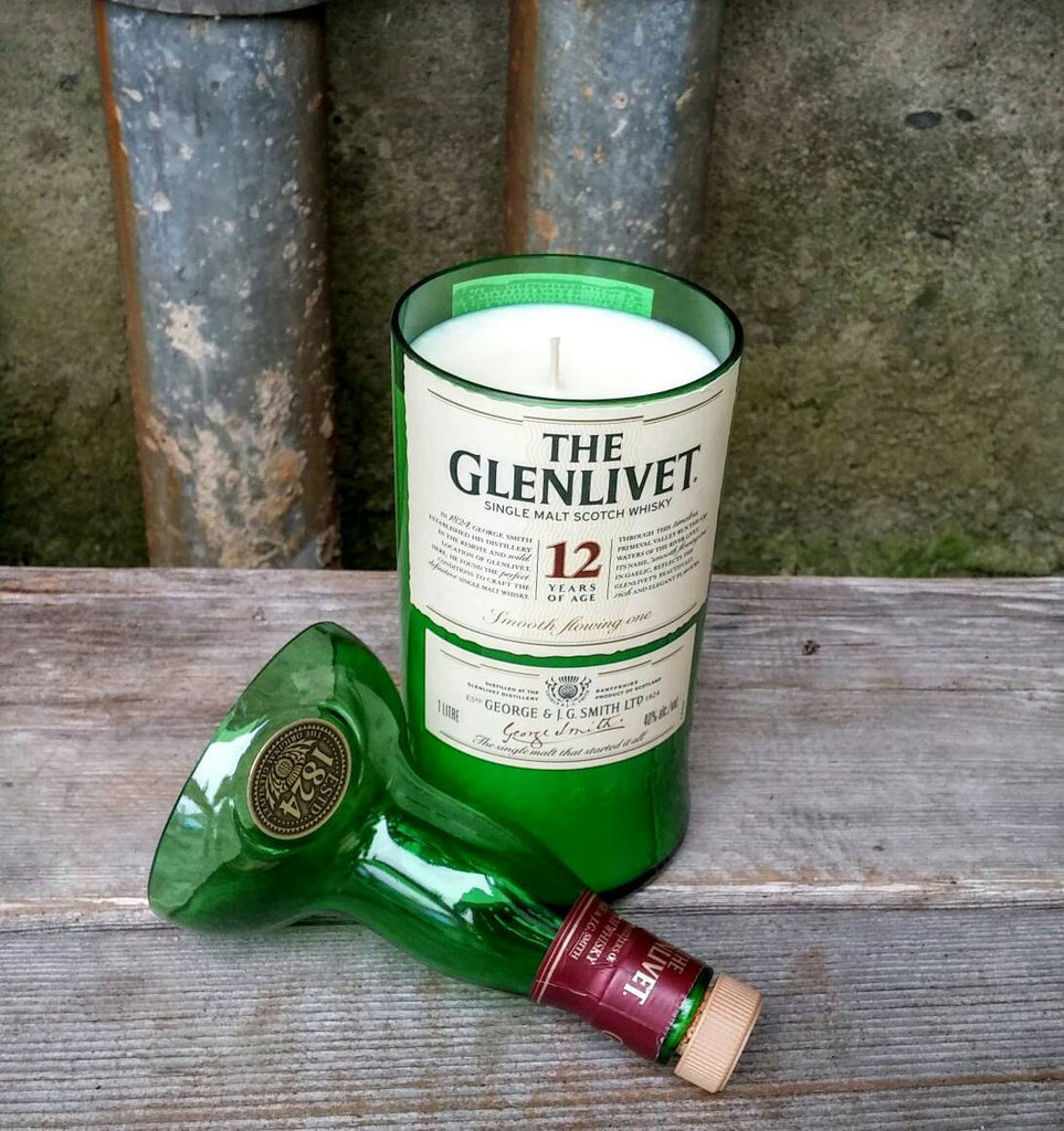 GLENLIVET whiskey Soy Candle - Scented