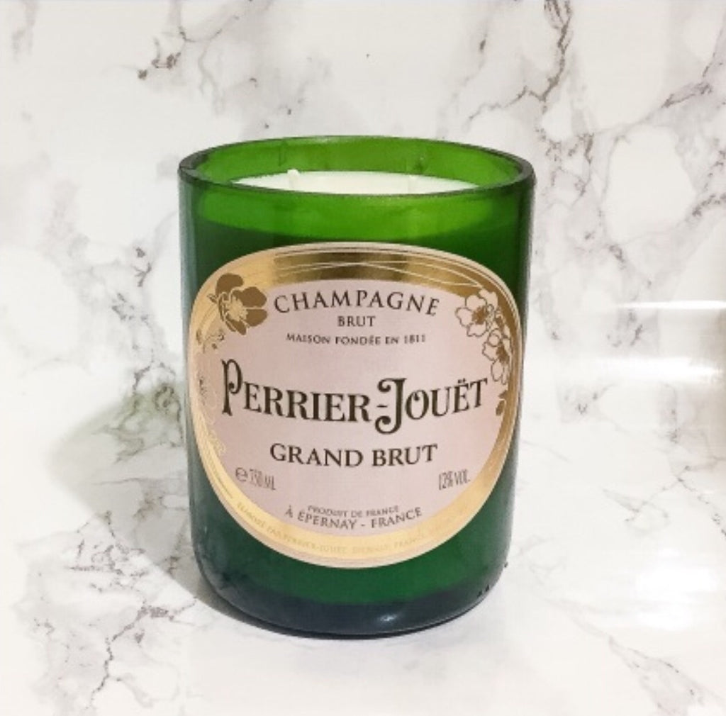 Perrier Jouet Champagne Candle - Scented