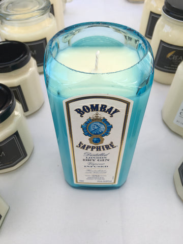 Bombay Sapphire Gin Soy Candle