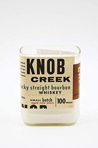 Knob Creek Whiskey Candle - Scented