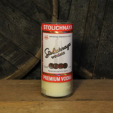 Stolichnaya vodka candle -  Scented