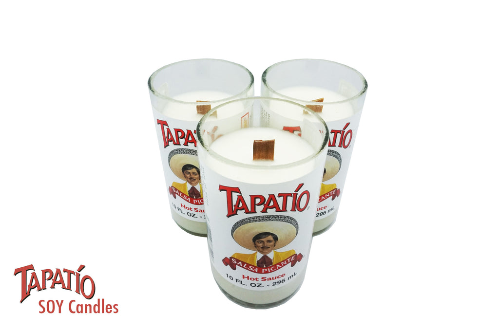 3 Tapatio Soy Candles- Scented