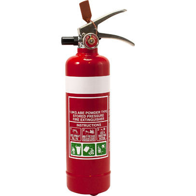 1.0KG ABE Dry Chemical Powder Fire Extinguisher