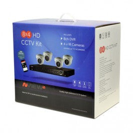 NESS 4 Camera HD Surveillance Kit