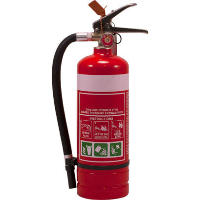 2.0KG ABE Dry Chemical Powder Fire Extinguisher
