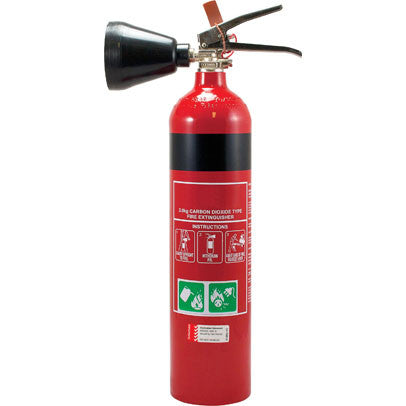 2.0KG Carbon Dioxide Fire Extinguisher