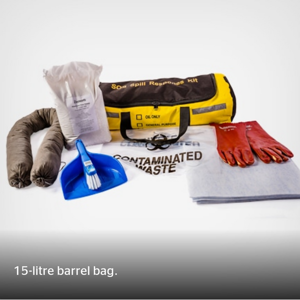 15L General Purpose Spill Kit - Portable Bag