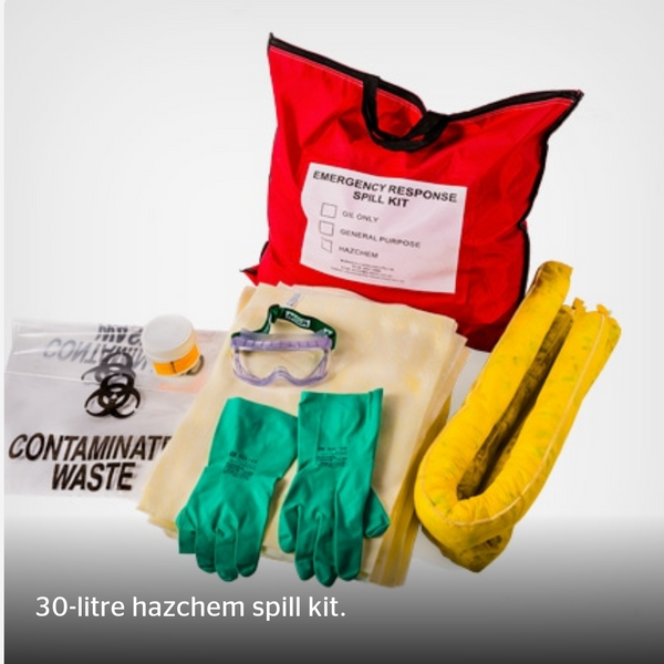 30L Hazchem Spill Kit - Portable