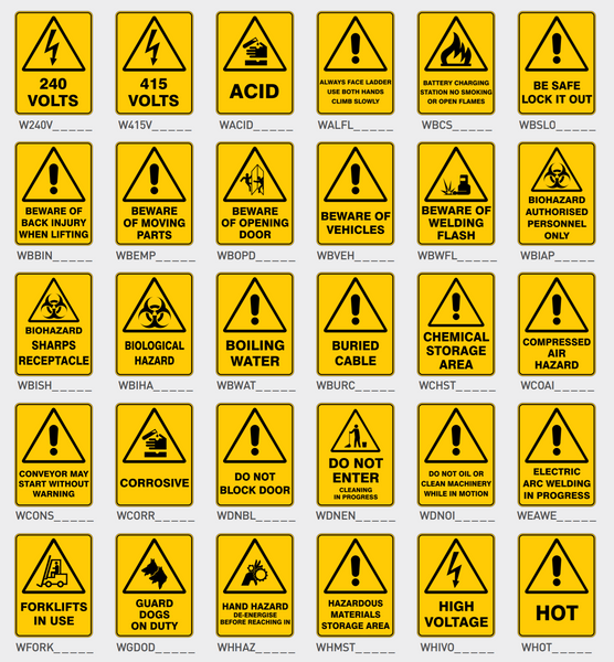 Warning Signs 1