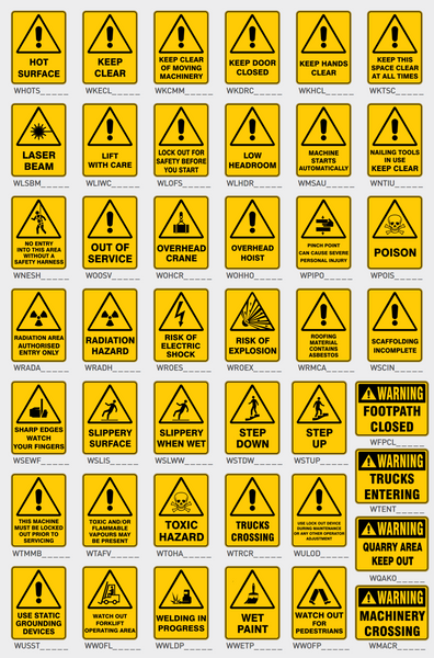 Warning Signs 2
