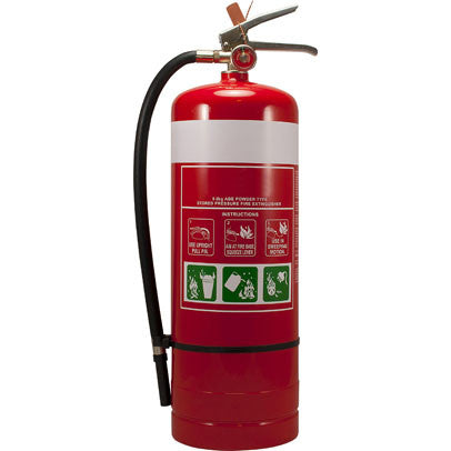 9.0KG ABE Dry Chemical Powder Fire Extinguisher