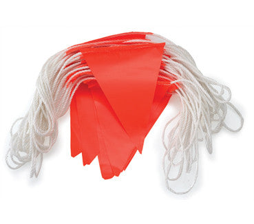 Bunting Hi Vis Orange 30m