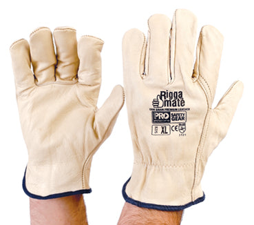 PROCHOICE Riggamate Premium Cow Grain Leather Gloves